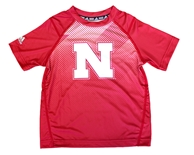 Childrens Adidas Nebraska Vortex Tee