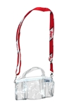 Clear Kay Kay Mini Duffel Purse