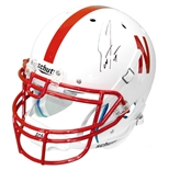 Coach Frost Autographed Authentic Nebraska Helmet