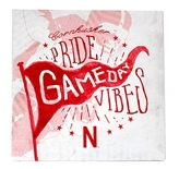 Cornhusker Pride Game Day Vibes Canvas