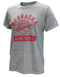 Cornhuskers Basketball League Tee