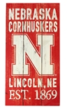 Cornhuskers Painted Fence Section