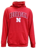 Nebraska Hoodie With Neck Gaiter