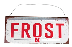 Frost Nebraska Tin Sign