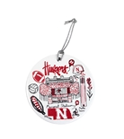 Gash Huskers Stadium Ornament