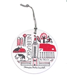 Gash Nebraska Capitol Ornament