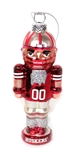 Glass Husker Nutcracker Ornament