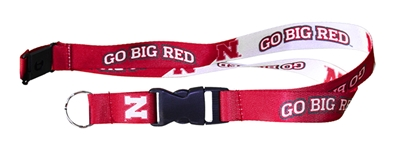 Go Big Red Breakaway Lanyard