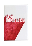 Go Big Red Shade Fridge Magnet