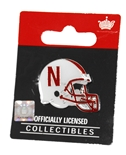 Nebraska Helmet Pin
