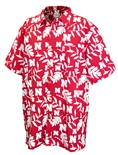 Hawaiian Husker Button Up