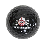 Husker Blackshirts Golf Ball