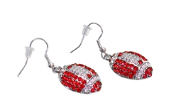 Husker Football Earrings