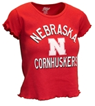 Husker Gals Urban Edge Crop Top