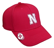 Husker Honeycomb Links Cap - Red