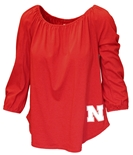 Husker N Off-Shoulder Blaire Top