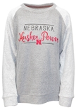 Husker Power Script Oatmeal Terry
