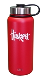 Huskers 32 Stainless Steel Bottle