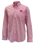 Cutter N Buck Huskers Gingham