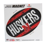 Huskers Distressed Magnet