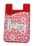 Huskers Flower Phone Wallet