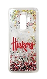 Huskers Galaxy S9 Plus Floating Glitter Case