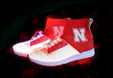 Huskers LED Light Up High Top