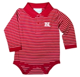 Huskers LS Jersey Golf Creeper