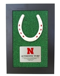 Huskers Lucky Turf Plaque