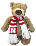Huskers Plush Archie Bear