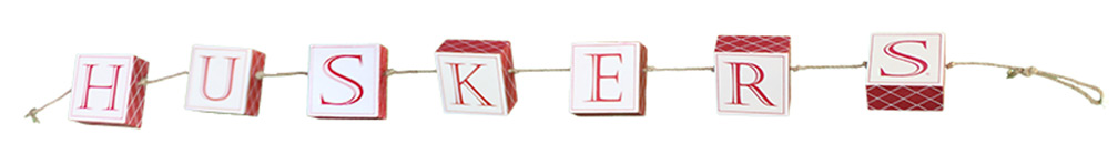 Huskers Rope Blocks Sign