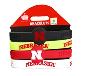 Huskers Stretch Bracelets
