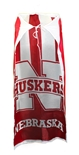 Huskers Super Fan Flag Cape