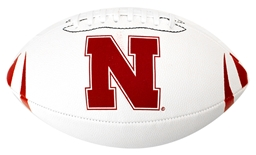 Huskers Youth Rubber Football