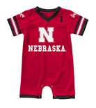 Infant Bumpo Nebraska Football Onesie Romper