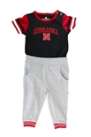 Infant Flavio Nebraska Baseball Onesie Pant Set