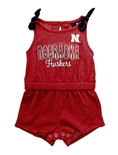Infant Girls Huskers Haparoo Romper
