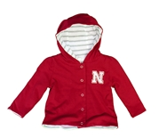 Infant Girls Lil Red Reversible Jacket