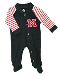 Infant Nebraska Lil King Snap Romp