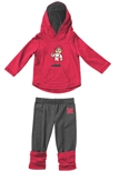 Infant Nebraska Minerva LS Tee Legging Set