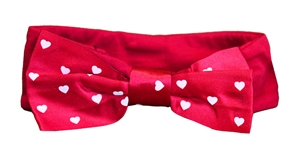 Infants Heart Red Headband