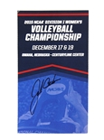 John Cook Autographed 2015 National Championship Game Ticket