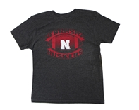 Kids Nebraska Huskers Football Tee