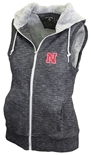 Ladies Husker Full Zip Hooded Vest