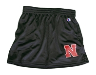 Ladies Huskers Ultimate Fan Mesh Skirt