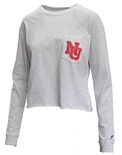 Ladies NU Crop LS Tee