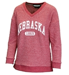 Ladies Nebraska 1869 VNeck