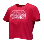 Ladies Nebraska State Crop Tee
