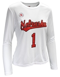Ladies Nebraska Volleyball Home Jersey Top