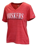 Ladies University of Nebraska Huskers Tee